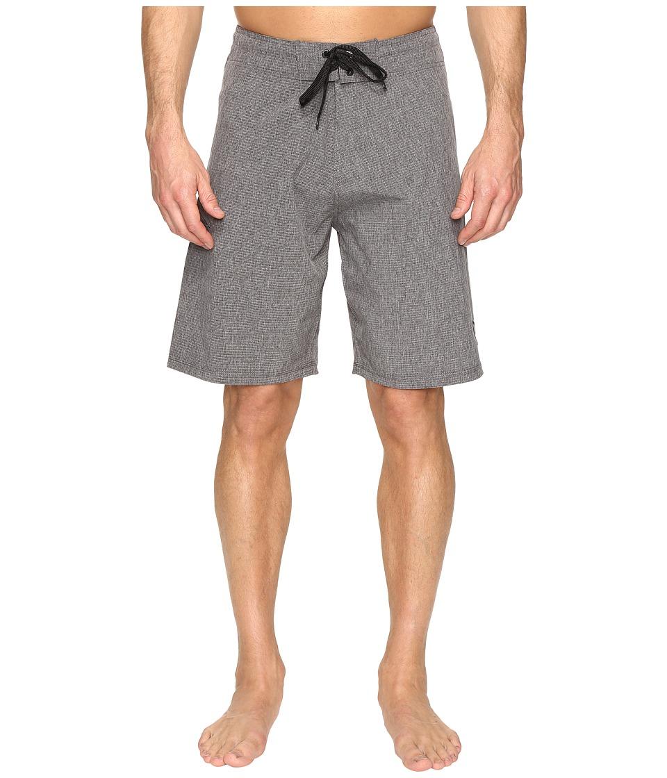 Body Glove Vapor Zupperino Boardshorts (Charcoal Heather) Men