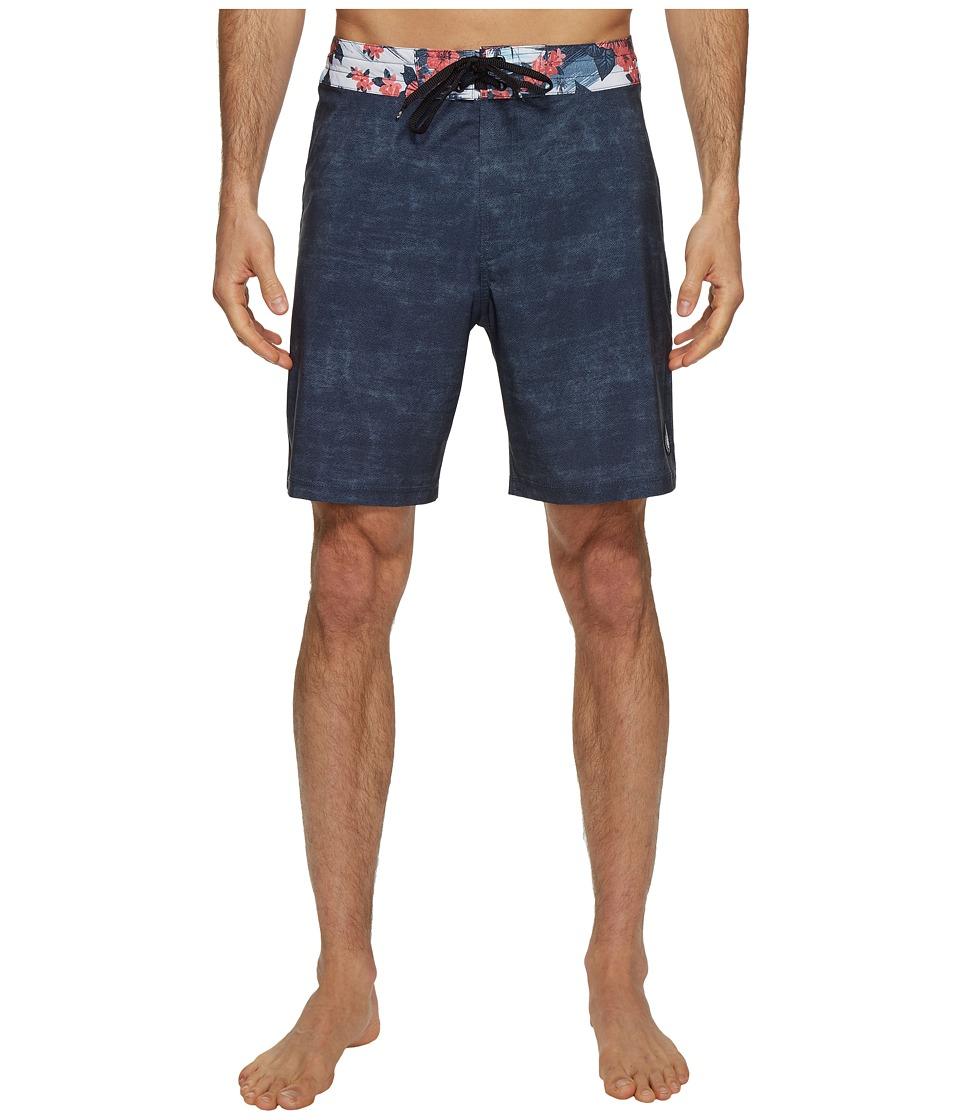 Body Glove Vapor Trimming Boardshorts (Charcoal) Men