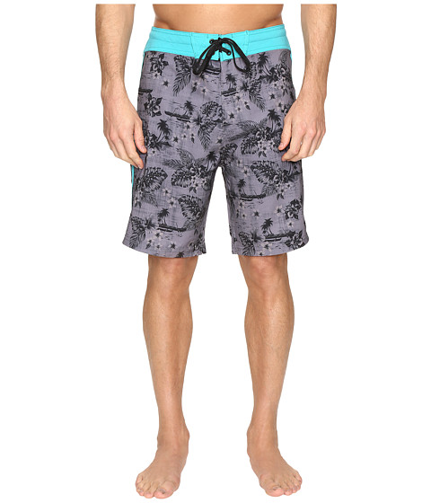 Body Glove Vapor Outrigger Boardshorts - Charcoal