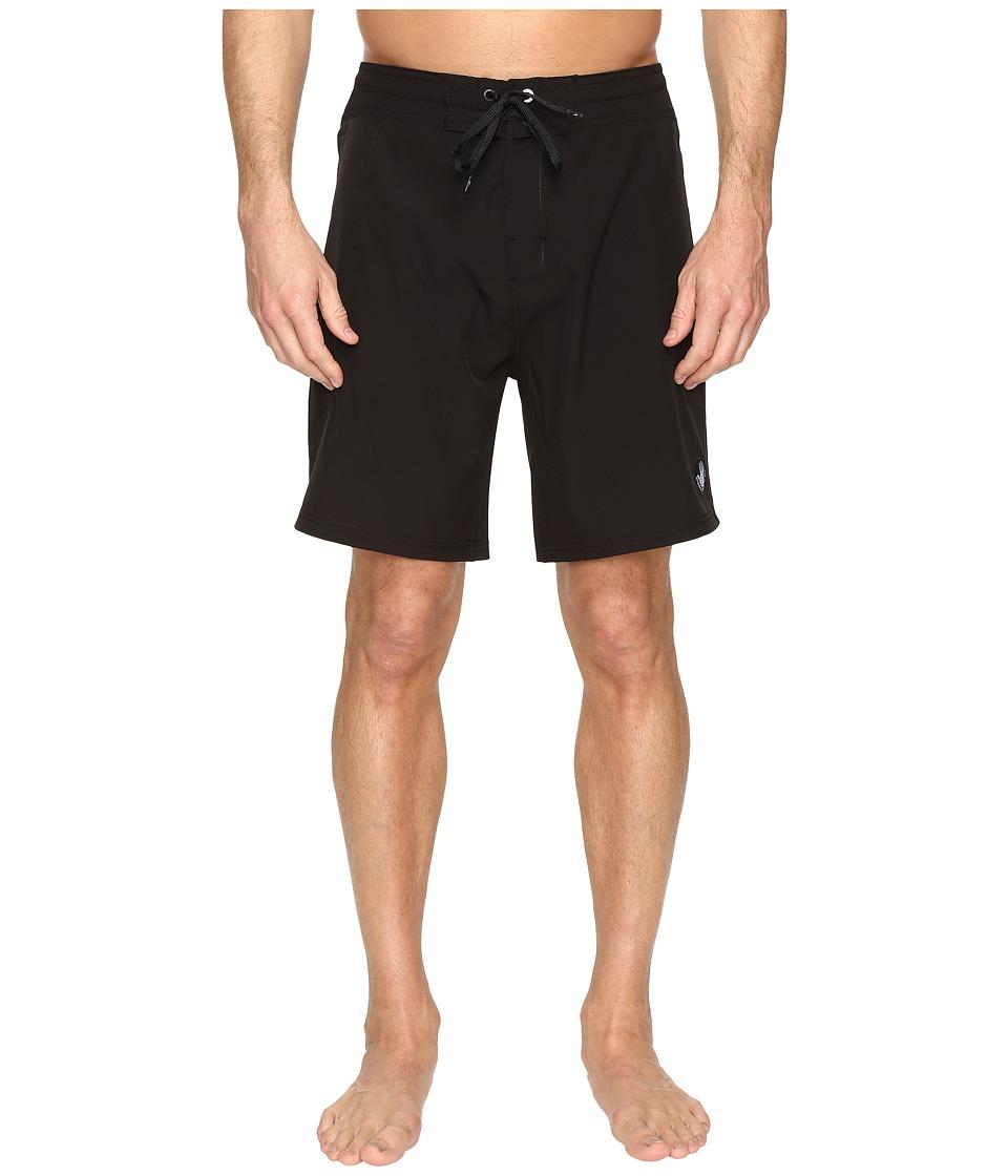 Body Glove Vapor Twin Spin Boardshorts (Black) Men