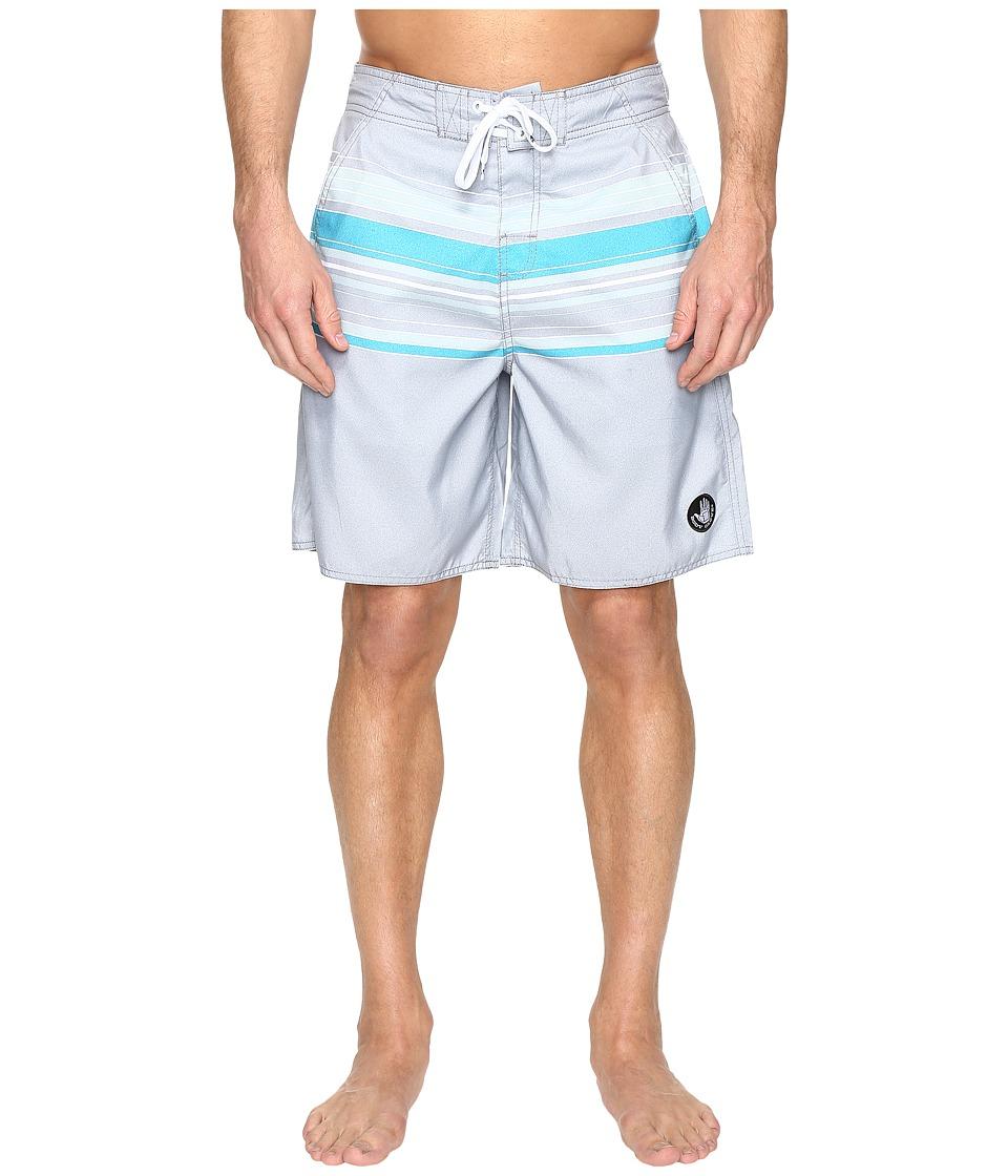 Body Glove Pacific Beach V-Boardshorts (Grey) Men