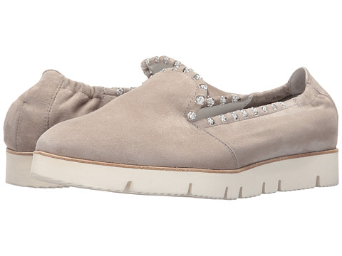 Kennel & Schmenger Pia X Crystal Trim Sneaker - Cement Suede