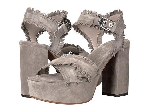 Kennel & Schmenger Kenda Fringe Platform Sandal