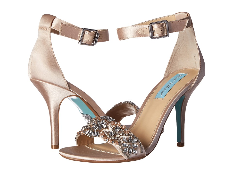 Blue by Betsey Johnson Gina (Champagne) Women
