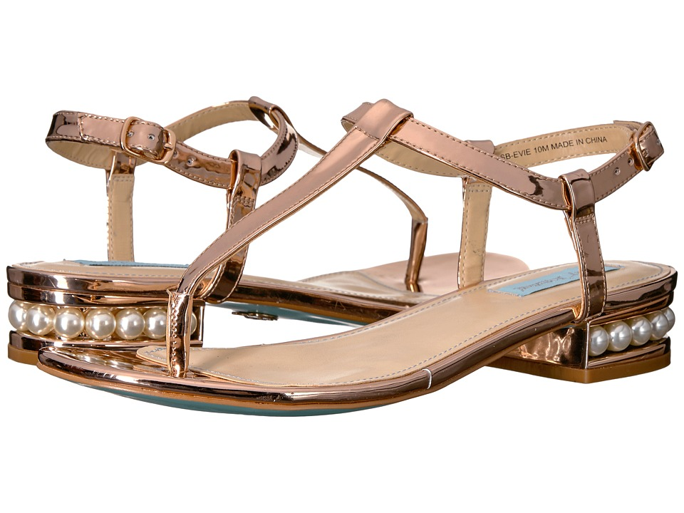 Blue by Betsey Johnson Evie (Rose Gold) Women