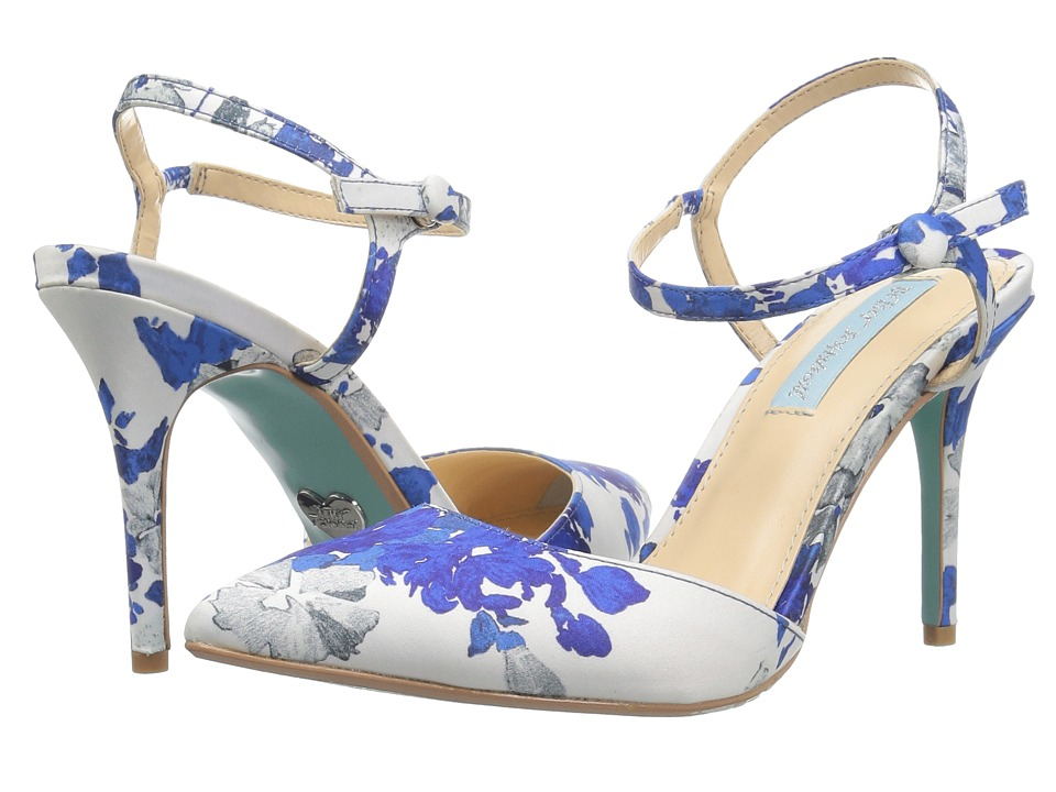 Blue by Betsey Johnson Anina (Blue Multi) High Heels