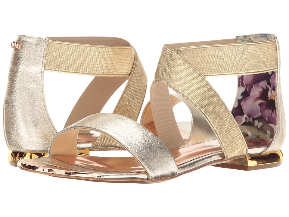 Ted Baker Laana (Gold Leather) Women