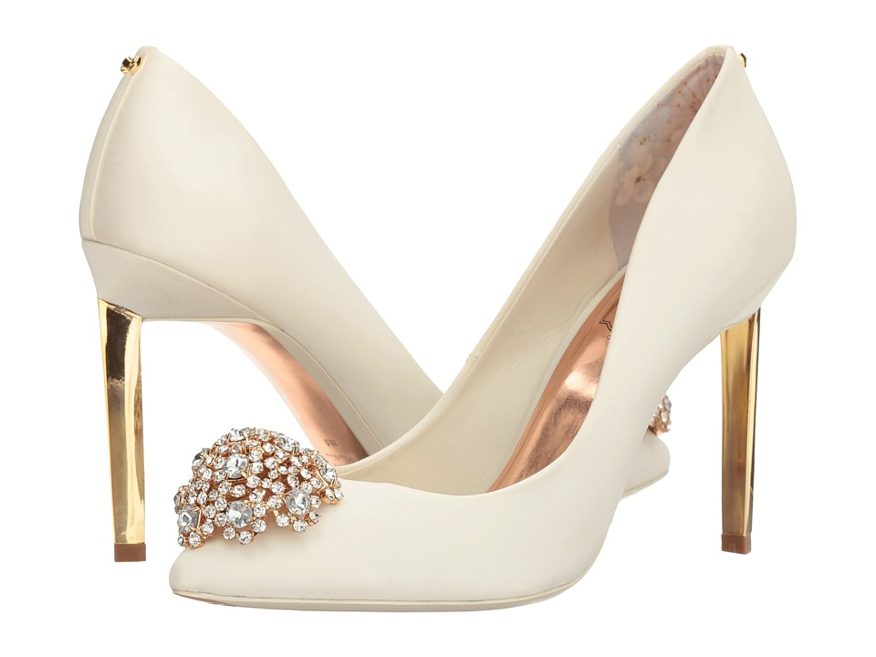 Ted Baker Peetch (Cream Textile) High Heels