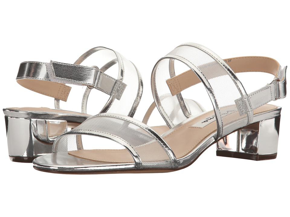Nina Ganice (Silver Metal Foil/Mesh) Sandals