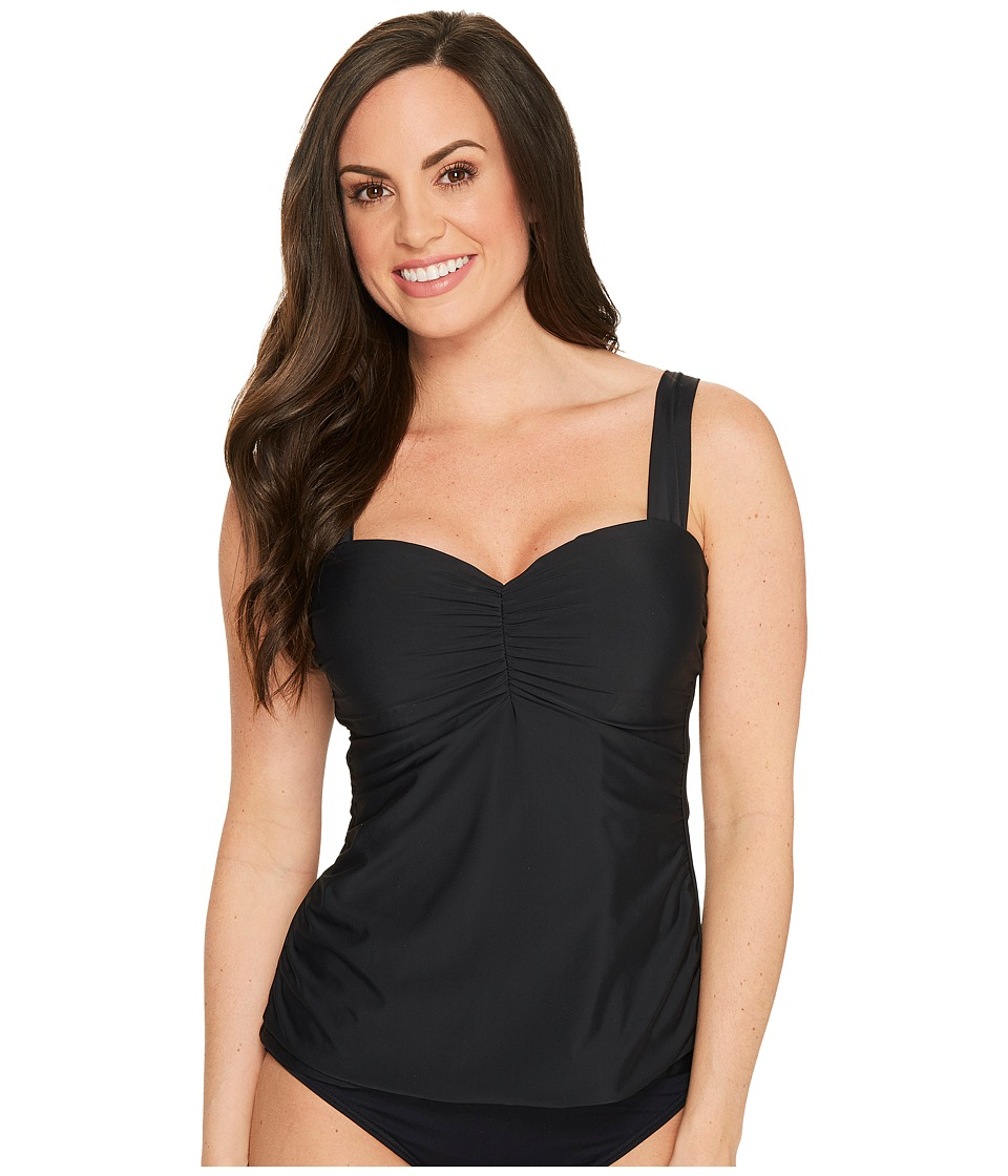 Athena - Cabana Solids Chantele Underwire Tankini Top D-Cup