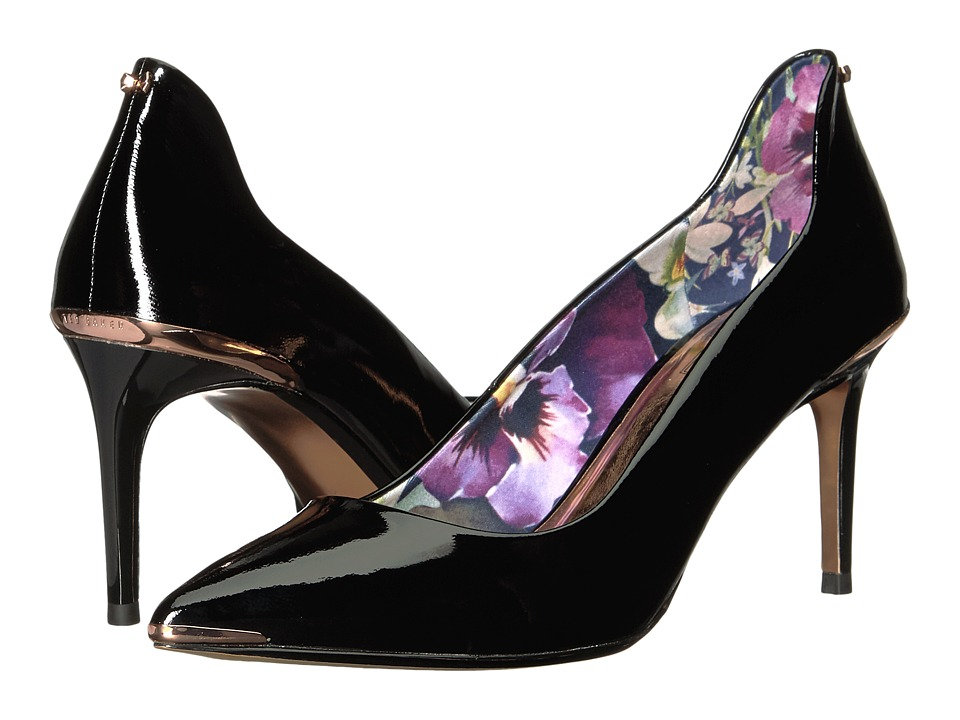 Ted Baker Vyixin (Black Patent Leather) Women's Shoes
