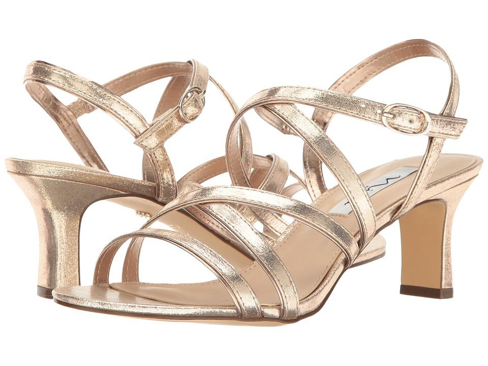 Nina Genaya (Taupe/Fairy Dust Reflective Suedette) High Heels