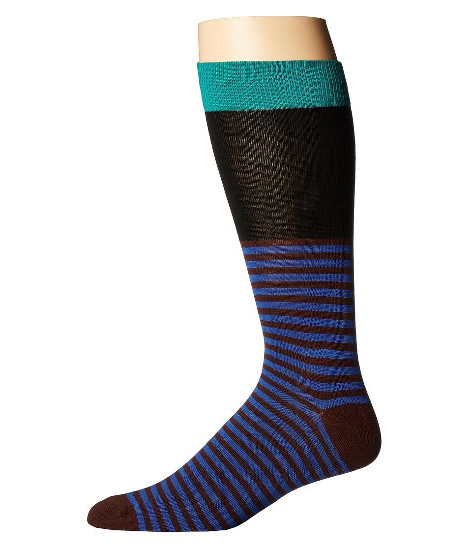 Richer Poorer - Holden (Green/Black) Mens Crew Cut Socks Shoes