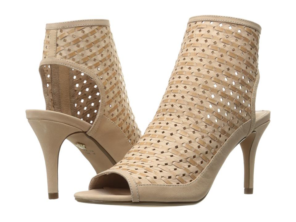 Nina Kristene (Sand Perforated Woven Leather) High Heels
