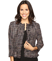 Ivanka Trump - Tweed Jacket with Fringe Sleeves