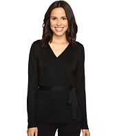 Ivanka Trump - Lurex Wrap Sweater