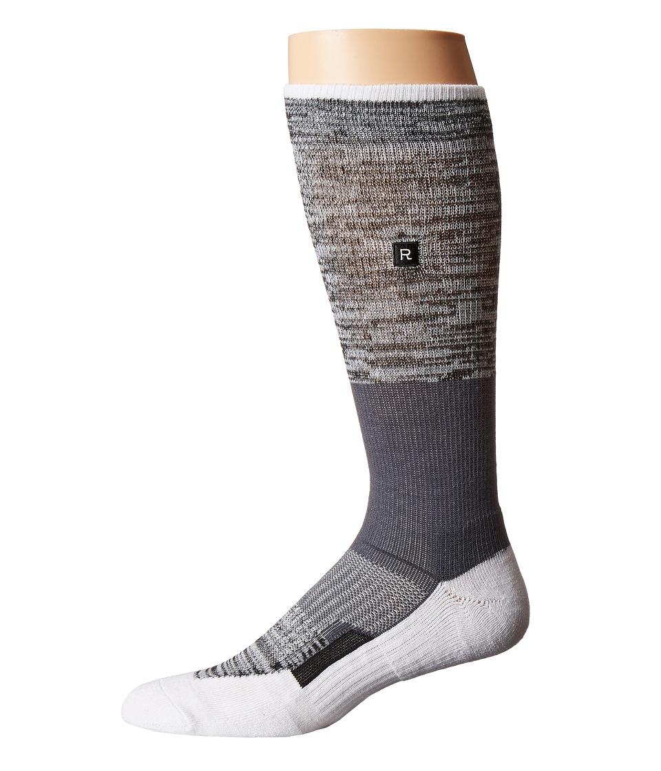 Richer Poorer - Statik Athletic (White 1) Mens Crew Cut Socks Shoes