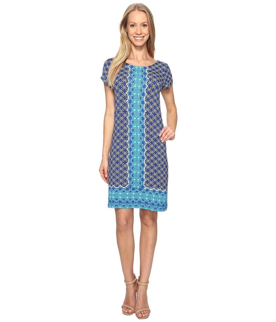Hatley - Tee-Shirt Dress (Henna Floral) Womens Dress