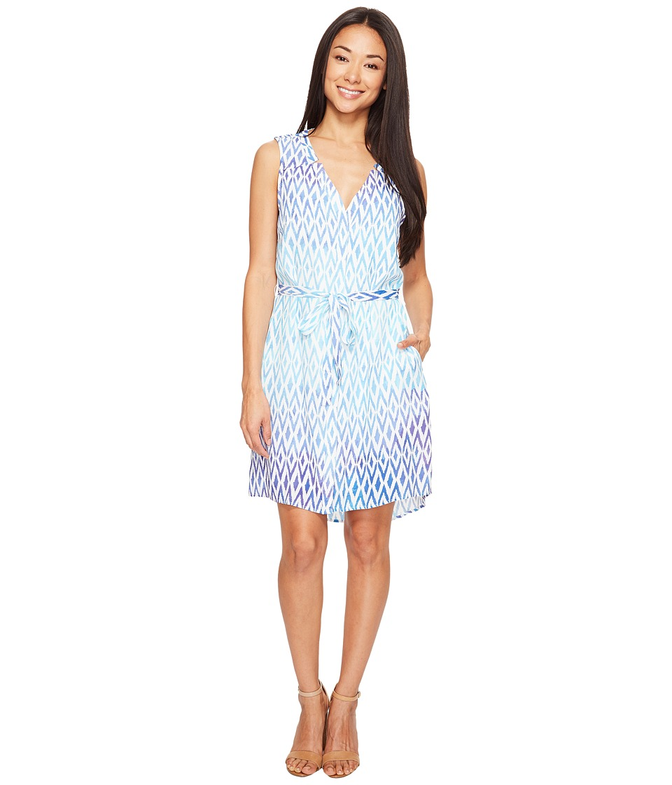 Hatley - Split-Neck Shirtdress (Sunbleached Ikat) Womens Dress