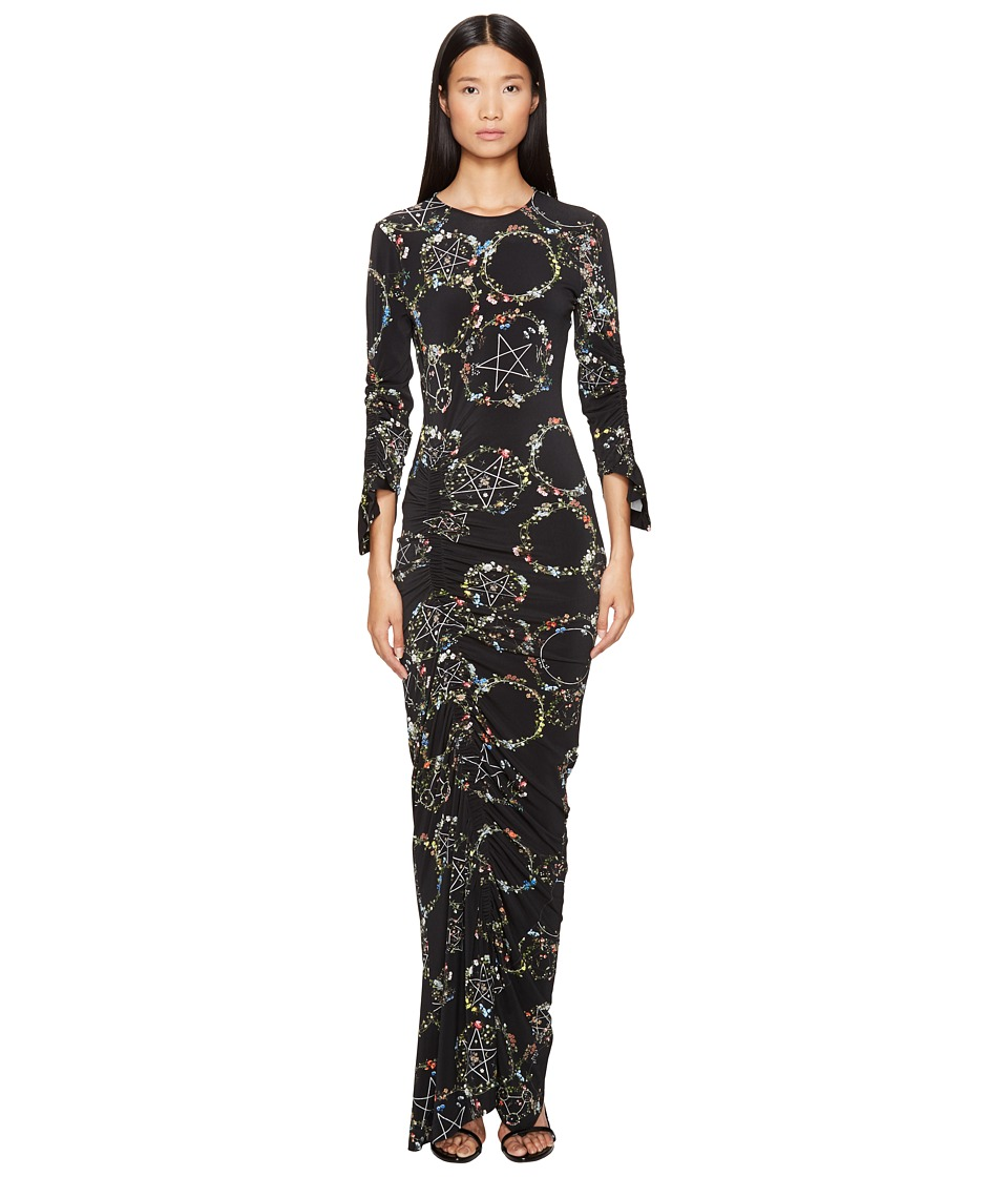 Preen by Thornton Bregazzi Philomena Long Long Sleeve Dress (Flower Ring Black) Women