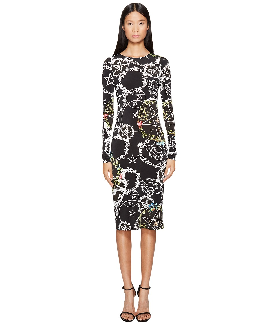 Preen by Thornton Bregazzi - Cherry Long Sleeve Stretch Crepe Dress