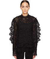 Preen by Thornton Bregazzi - Lace Organza Top