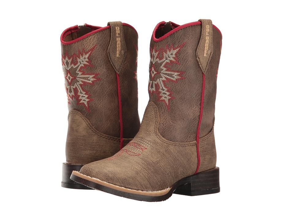 Blazin Roxx Clay (Toddler) (Medium Brown Distressed) Boys Shoes