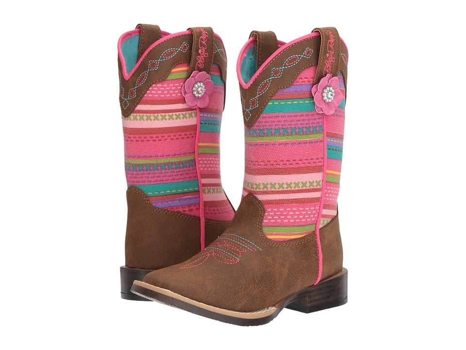 Blazin Roxx Camilla (Toddler/Little Kid) (Medium Brown Distressed) Girls Shoes