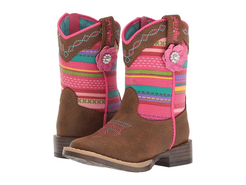 Blazin Roxx Camilla (Toddler) (Medium Brown Distressed) Girls Shoes