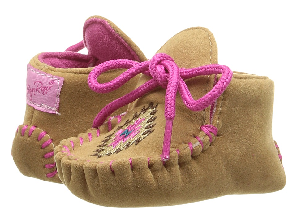 Blazin Roxx Kendra (Infant/Toddler) (Tan/Pink) Girls Shoes