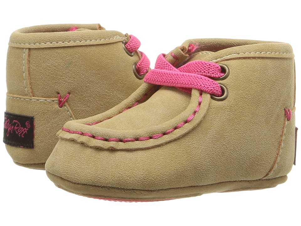 Blazin Roxx Reagan (Infant/Toddler) (Tan/Pink) Girls Shoes