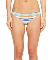 RVCA - Stripe Type Cheeky Bikini Bottom