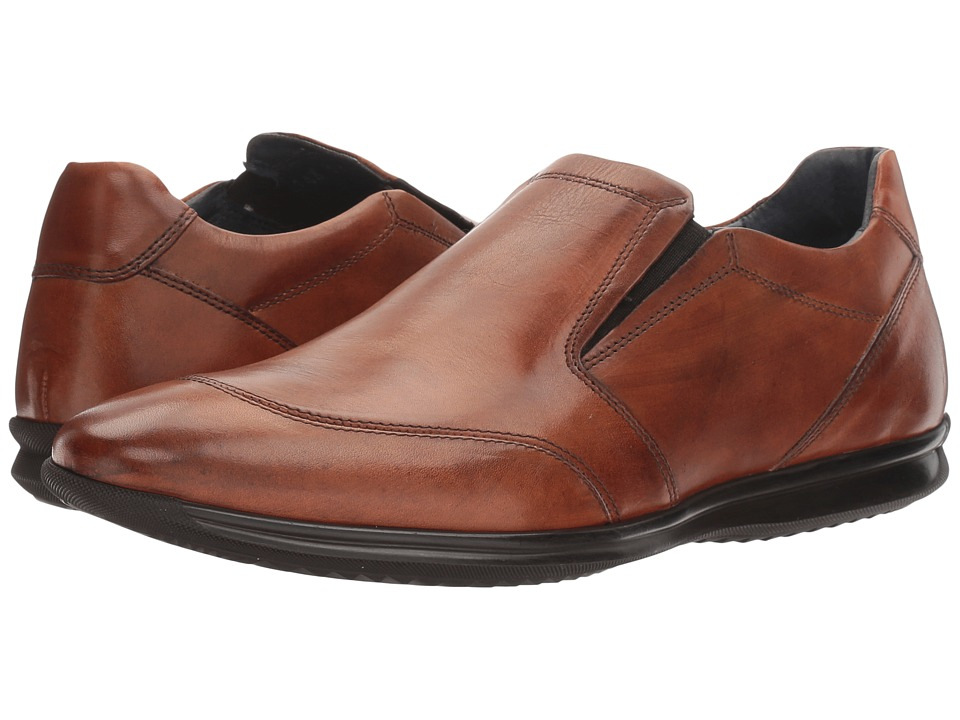Bacco Bucci - Luchino (Tan) Mens Slip-on Dress Shoes