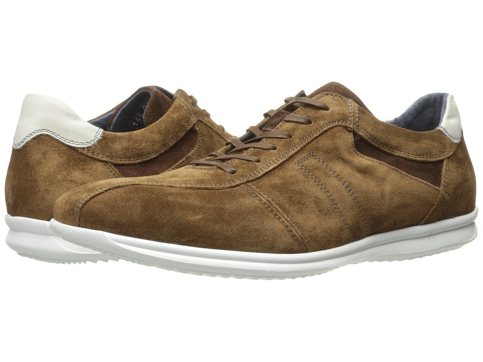 Image of Bacco Bucci - Ambers (Tan) Men's Lace up casual Shoes