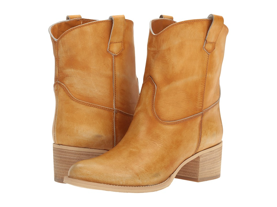 Massimo Matteo Low Cowboy Boot (Ocra) Women