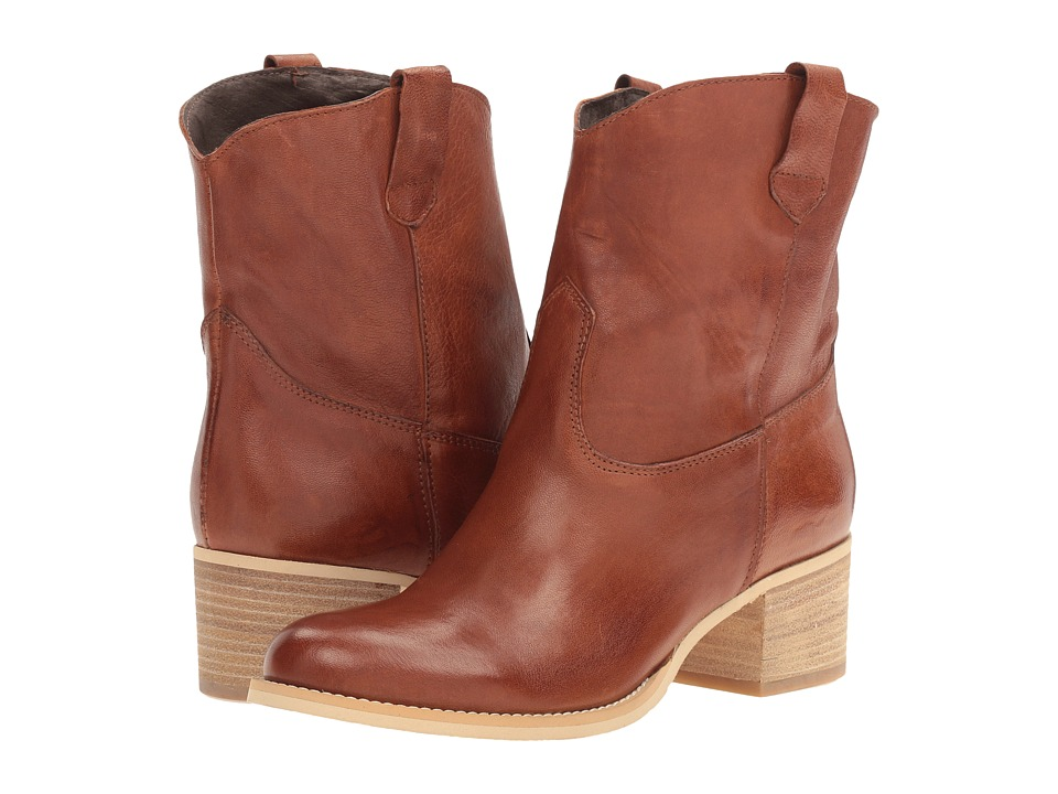 Massimo Matteo Low Cowboy Boot (Tan) Women