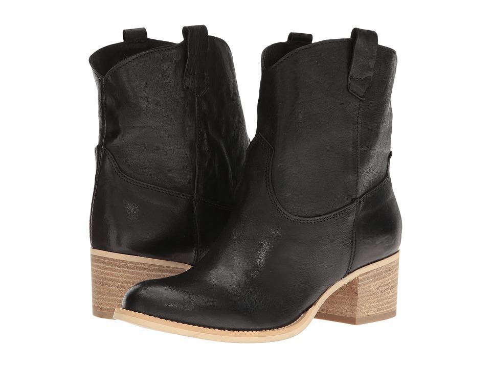 Massimo Matteo Low Cowboy Boot (Black) Women