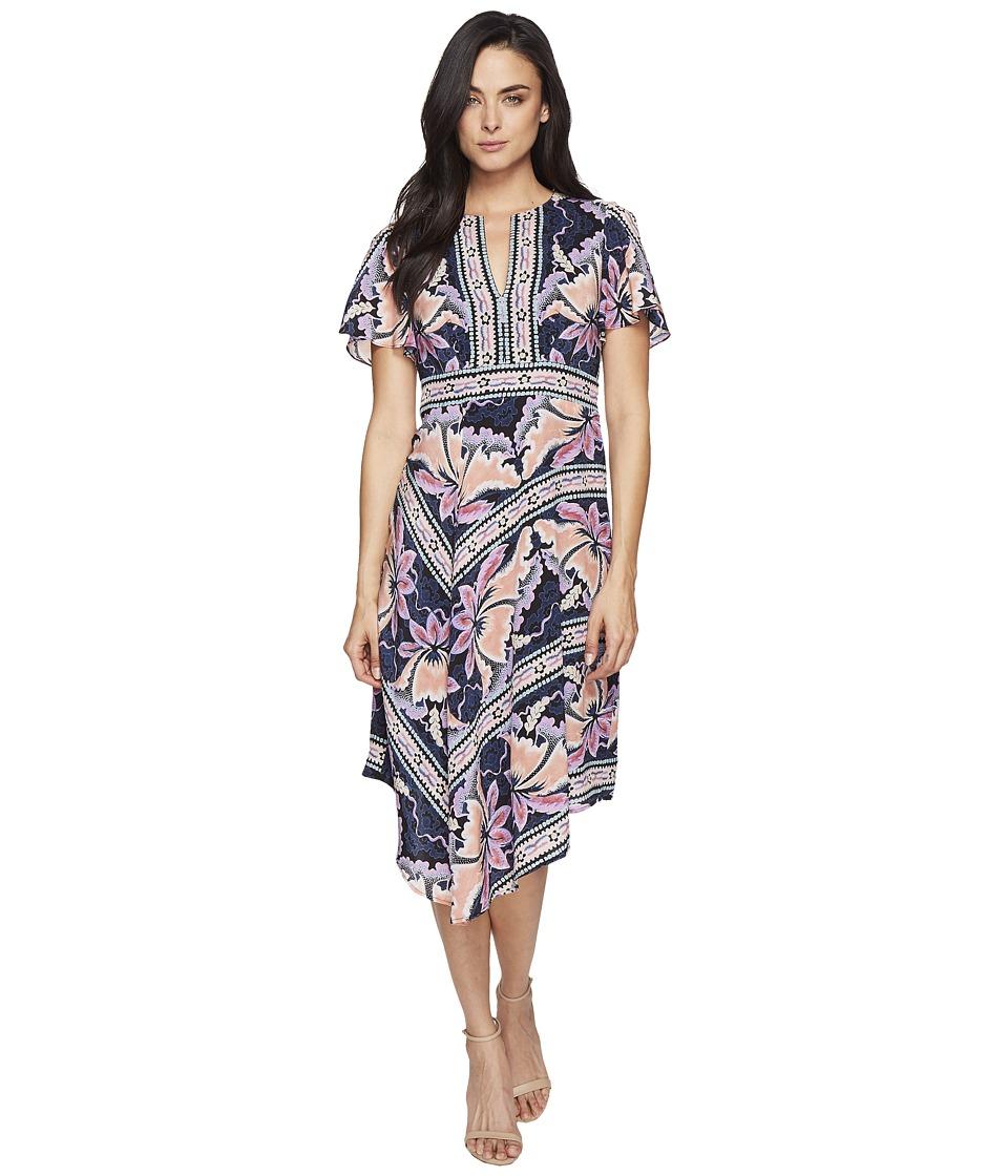 Nanette Lepore Primavera Dress (Black Multi) Women