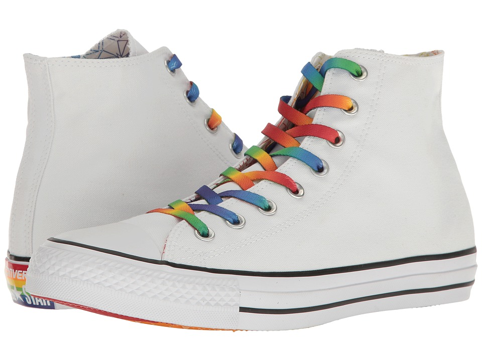 Converse Chuck Taylor All Star Hi-Pride Collection (Multi/White/Black 2) Lace up casual Shoes
