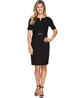 Ellen Tracy - Luxe Stretch Dress w/ Keyhole