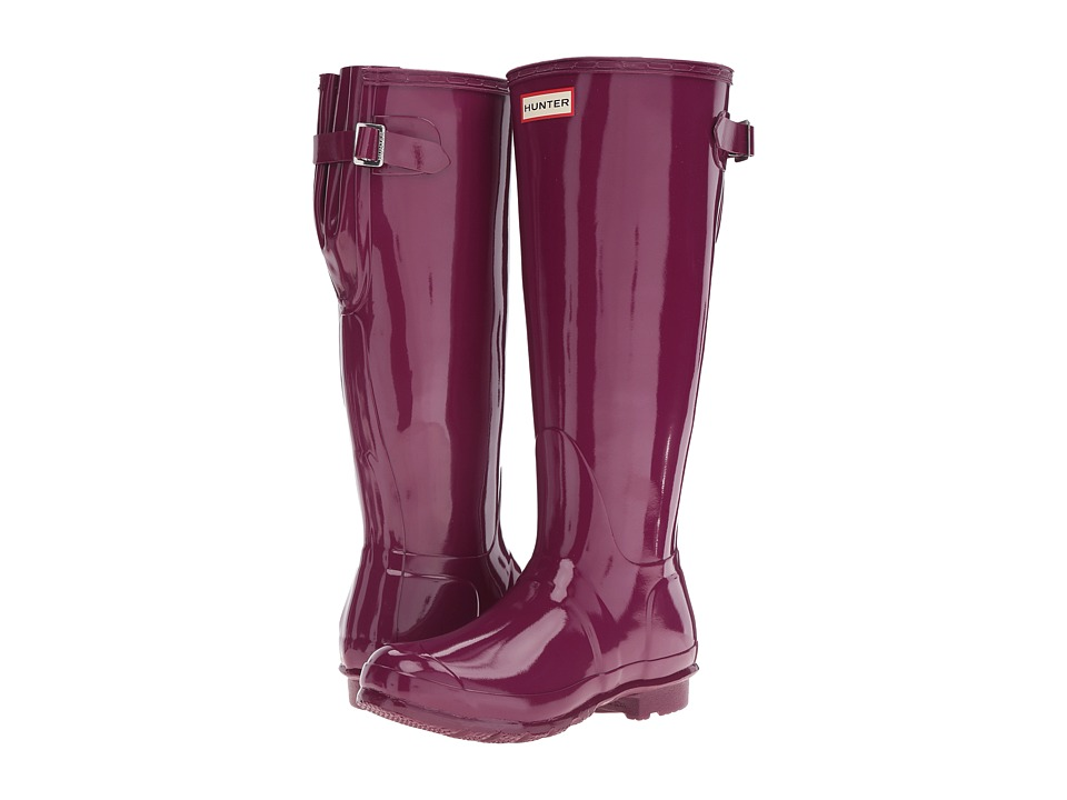 Hunter Original Back Adjustable Gloss (Bright Violet) Women