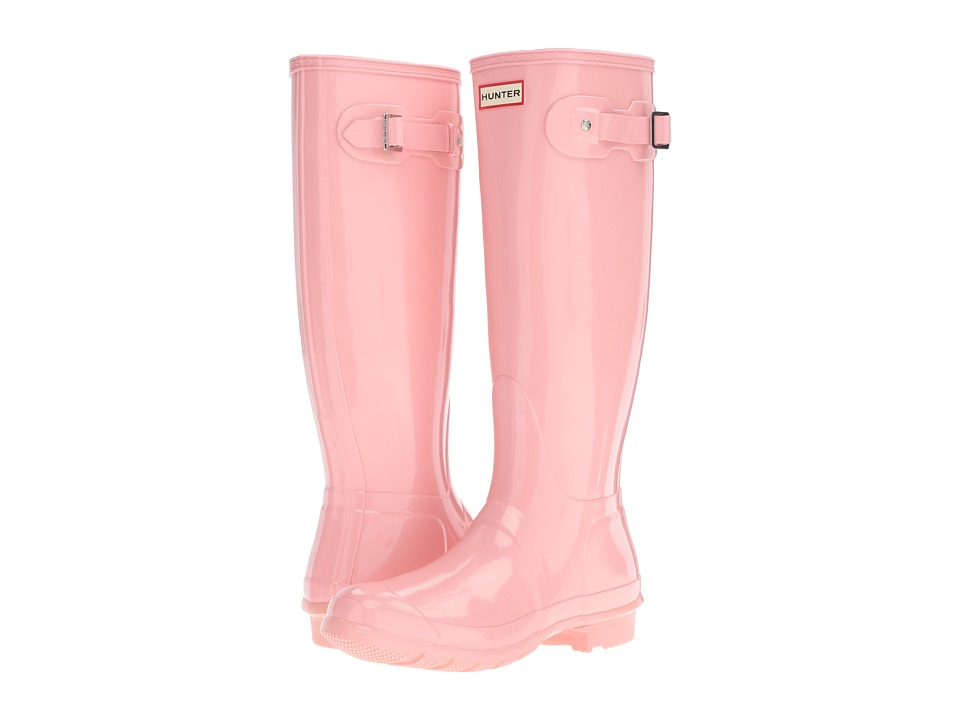 Hunter Original Tall Gloss (Pink Sand) Women