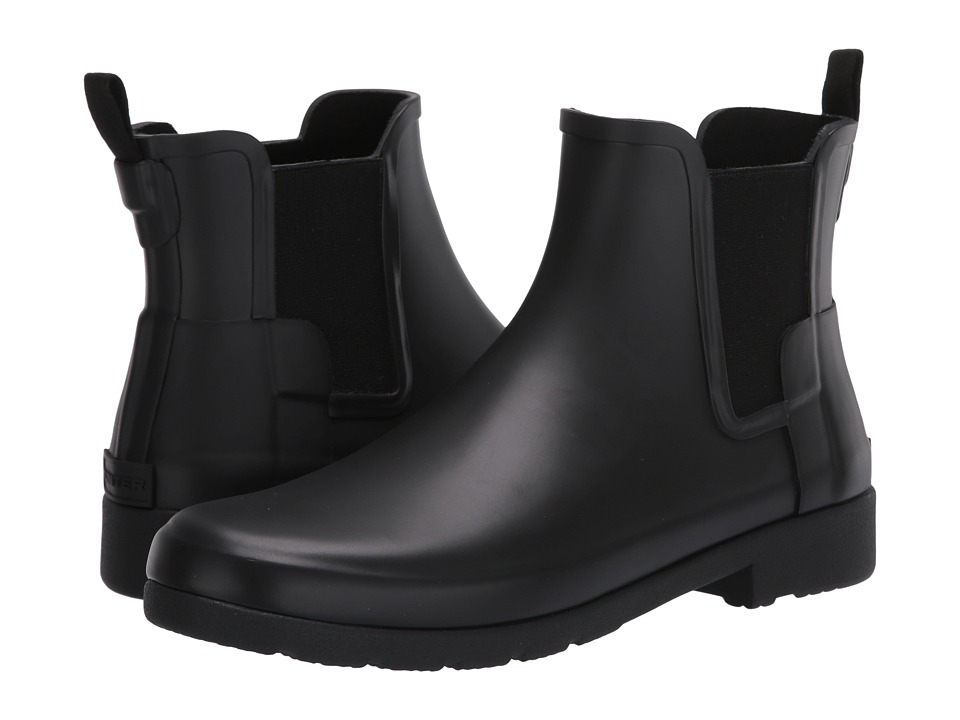 Hunter Original Refined Chelsea Boots (Black) Women
