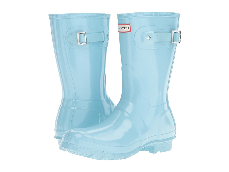 Hunter Original Short Gloss (Pale Mint) Women's Rain Boots