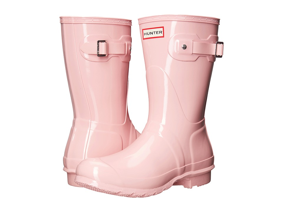 Hunter Original Short Gloss (Pink Sand) Women's Rain Boots