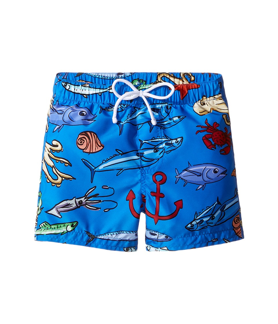 Dolce & Gabbana Kids - Mare Fish Swim Trunk