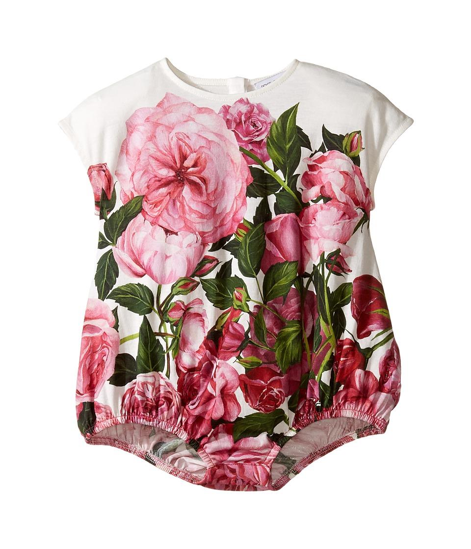 Dolce & Gabbana Kids - Rose Jersey One-Piece