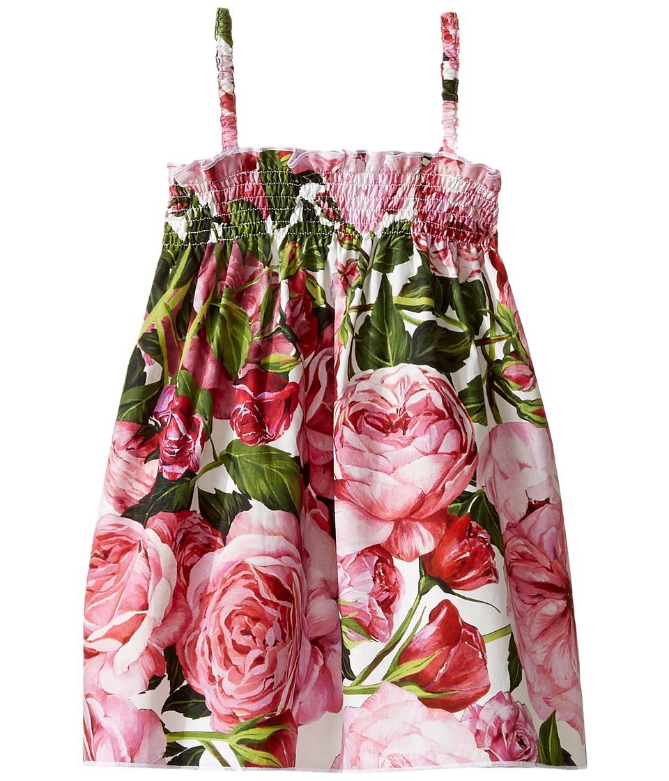 Dolce & Gabbana Kids - Rose Poplin Dress