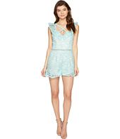 Adelyn Rae - Sabina Woven Lace Romper