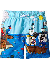 Dolce & Gabbana Kids - Mare Sicily Pirate Swim Trunk (Big Kids)